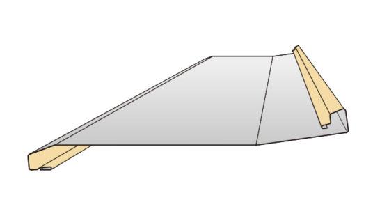 天晴ステップ(段葺)吊子工法