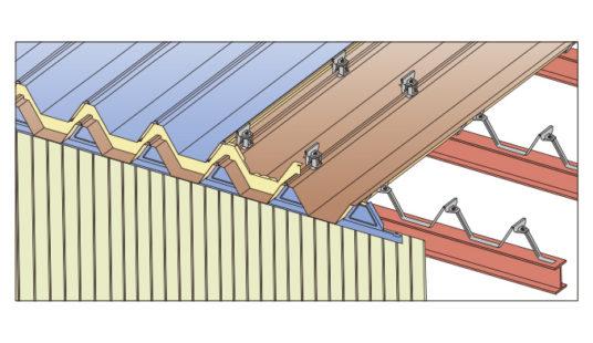 ハゼ式折板改修