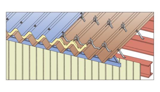 重式(ルーフデッキ)折板改修