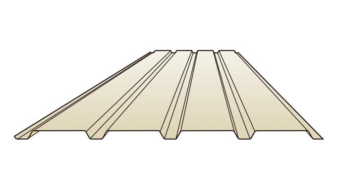 半裁角リブ364(4山)
